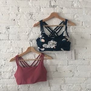 Two New With Tags Athleta Bras